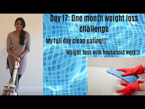 day-17:-1-month-weight-loss-challenge-|-clean-eating-day-and-household-work-|-weight-loss-in-tamil