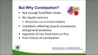 Bowel Obstruction/Constipation Webinar