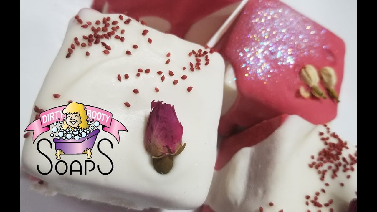 Valentine S Day Soap Making Youtube