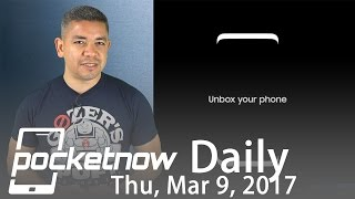 Samsung Galaxy S8 facial recognition, iPhone X GPU & more   Pocketnow Daily