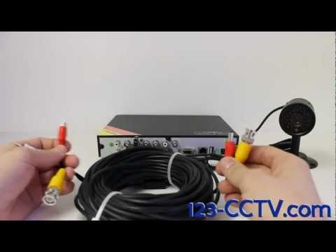 How to Connect an Audio Camera to a DVR by 123-CCTV.com