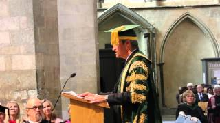 Installation of the new Chancellor of the University of Kent, Rochester Cathedral