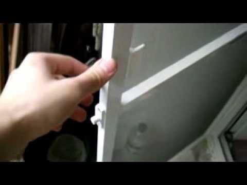 ОКНА И ДВЕРИ ПВХ. PVC windows. Ремонт ручки и балконной защёлки .