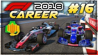 F1 2018 Career Mode Part 16: MAJOR ENGINE ISSUES IN THE RACE!