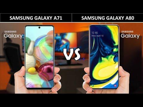 Samsung Galaxy A71 vs Samsung Galaxy A80