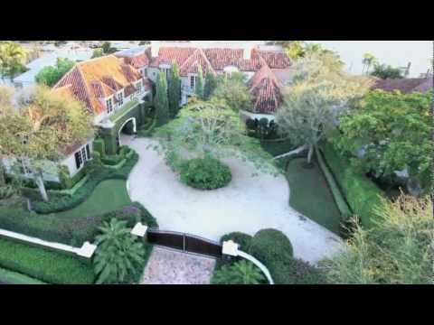 Magnificent Lake Boca Raton Country French Style Estate For Sale