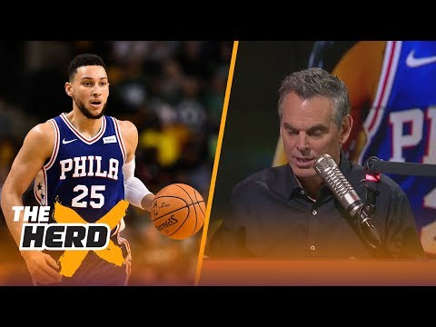 Colin Cowherd takes issue with the 76ers trusting and not tweaking the process | THE HERD
