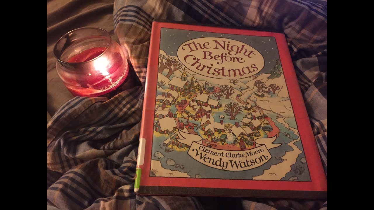 The Night Before Christmas Bedtime Story - YouTube