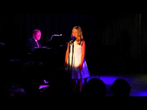 """Hadley Belle Miller (10 years old) singing """"Fat Sam's Grand Slam"""" from Bugsy Malone."""