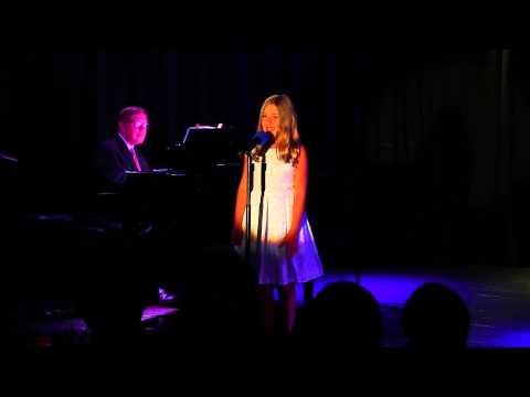 Hadley Belle Miller (10 years old) singing