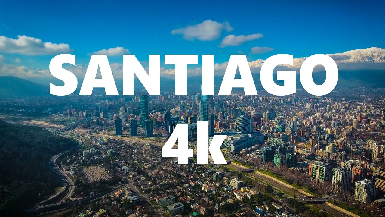 Santiago Drone Flight.