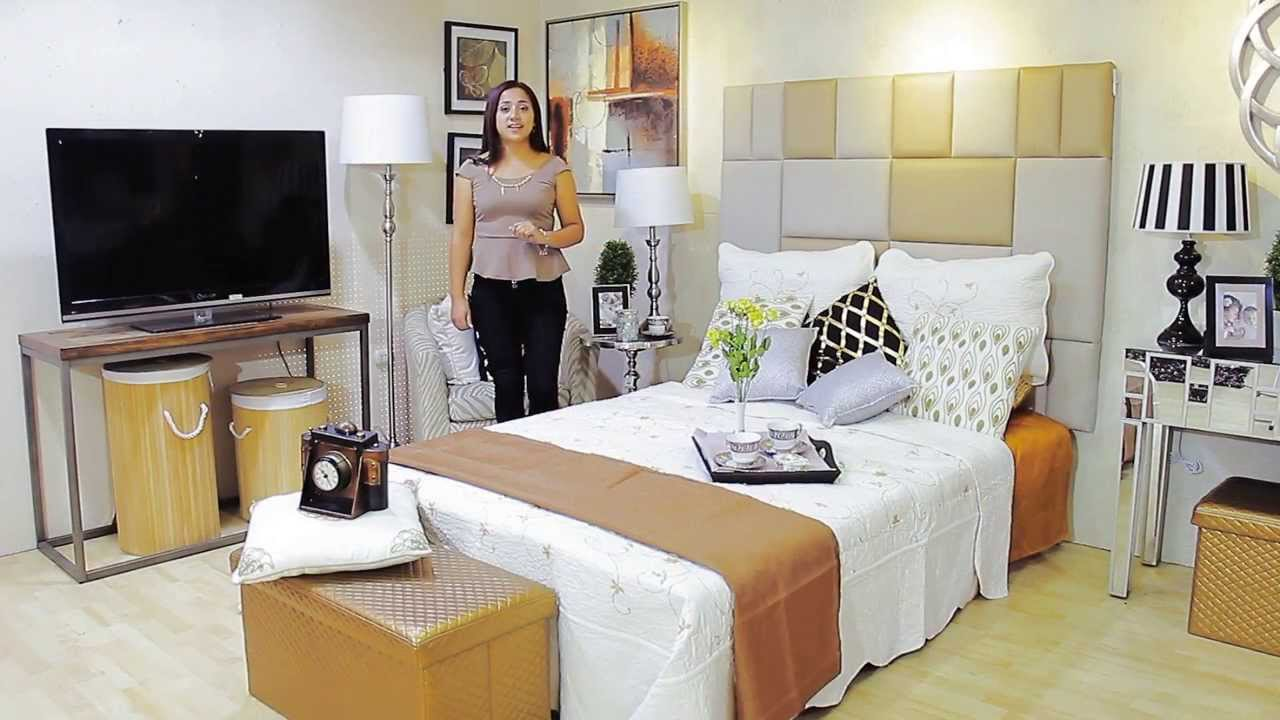 Decotips como decorar tu dormitorio youtube for Decoracion hogar lima