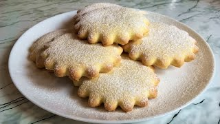 Молочные Коржики (Вкус Детства) / Milk Biscuits / Очень Простой Рецепт (Быстро и Вкусно)