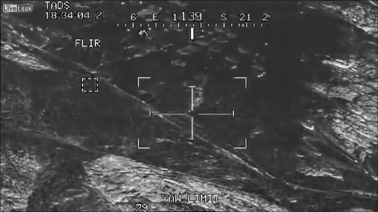 Apache Gun Camera Footage - Afghanistan for Op Spinarwa