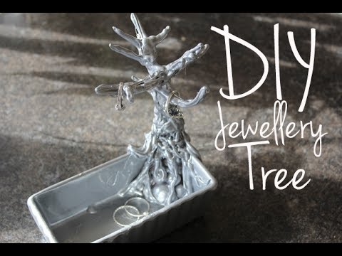 DIY: Jewellery Tree