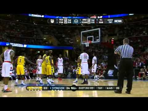 (11) Marquette vs. (3) Syracuse 2011 NCAA Tournament 03.20.2011