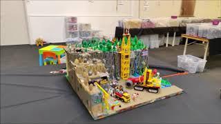 Impression Festijn met bouwstenen in Broodfabriek in Rijswijk, NL