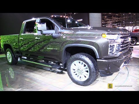 2020 Chevrolet Silverado 2500 HD High Country - Walkaround - 2019 Chicago Auto Show