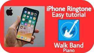 iPhone Ringtone Easy Turtorial On walkband piano screenshot 4
