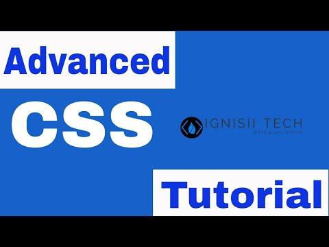 Advanced CSS Tutorial thumbnail