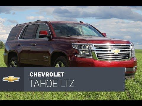Chevrolet Tahoe 2017 тест-драйв, хром, бензин, много.