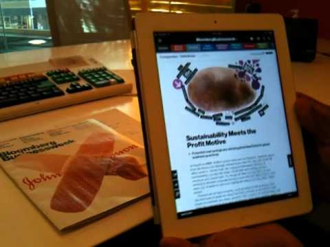 Bloomberg Businessweek iPad Demo