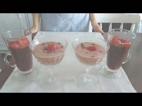 Zdrave poslastice sa jagodama