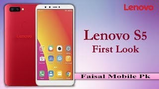 Lenovo S5 First Look || Full Phone Specifications, Price, Review, Release Date, Specs & Features