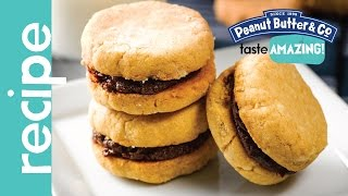 Peanut Butter Sandwich Cookies Recipe