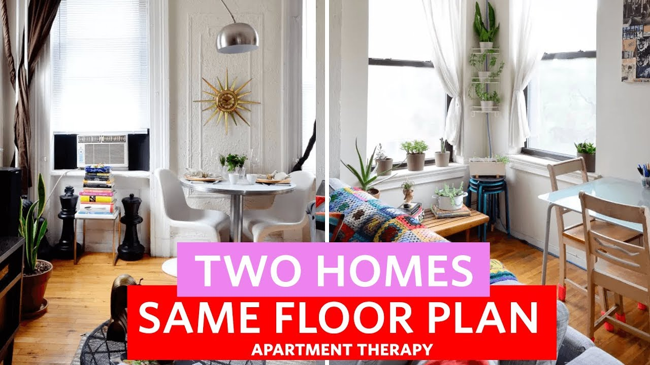 Two Railroad Apartments Homes Same Floor Plan Apartment Therapy