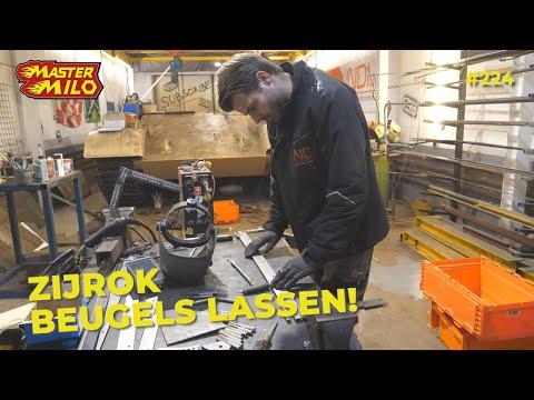 Zo Gaan Wij De Tank Rokbeugels Lassen! #224