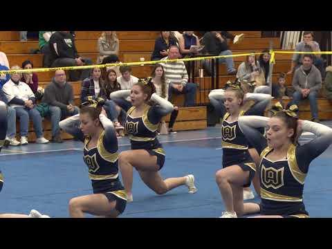 Woodstock Academy at 2019 ECC Cheerleading Championship
