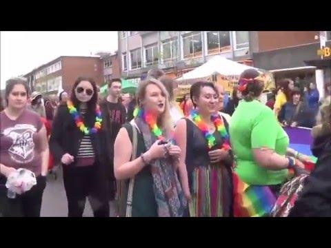 EXETER PRIDE 2016 LGBT  )0(