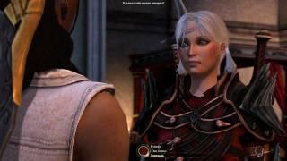 Dragon Age 2: Изабелла получила по морде.