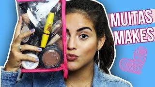Como montar uma necessaire de maquiagem | Maíra Ribeiro