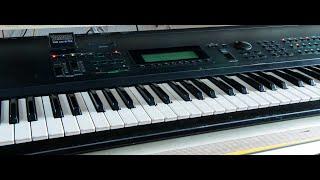 Yamaha SY 99 Soundbankdemo (no talking)