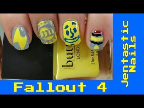 Fallout 4 Nail Art