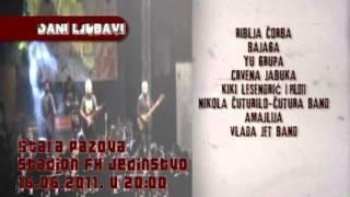 Koncert Dani ljubavi NAJAVA