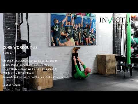 Core Workout #8 | CrossFit Invictus Gymnastics