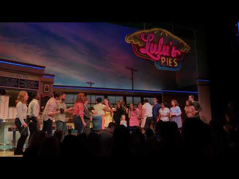 Down At The Diner LIVE for Sara Bareilles' Final Bow in Waitress