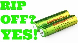 18650 skywolfeye 5000mah green cell battery yes they are a rip off thorough review