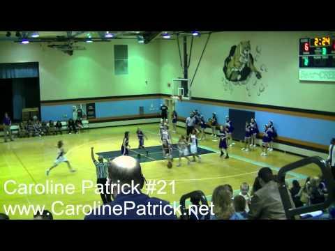 Spring Station Middle School vs Sunset Middle School 2011 - Caroline Patrick 18 Points