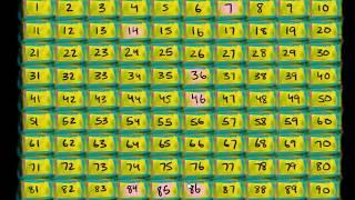 Eksik Sayıları Bulma Alıştırması: Sayı Canavarı Sayıları Yedi! (Okul Öncesi Matematik / Sayma)