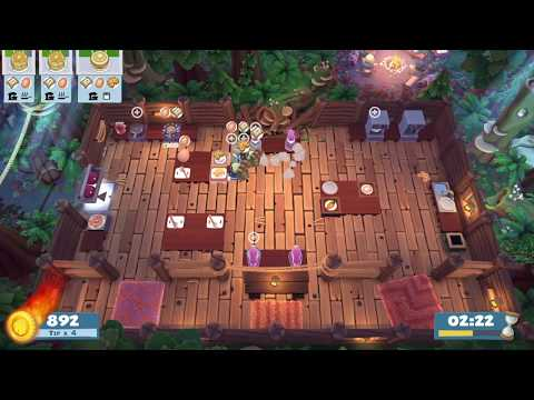 Overcooked 2 - Campfire Cook Off 3-1 (single player) Score: 2040 |