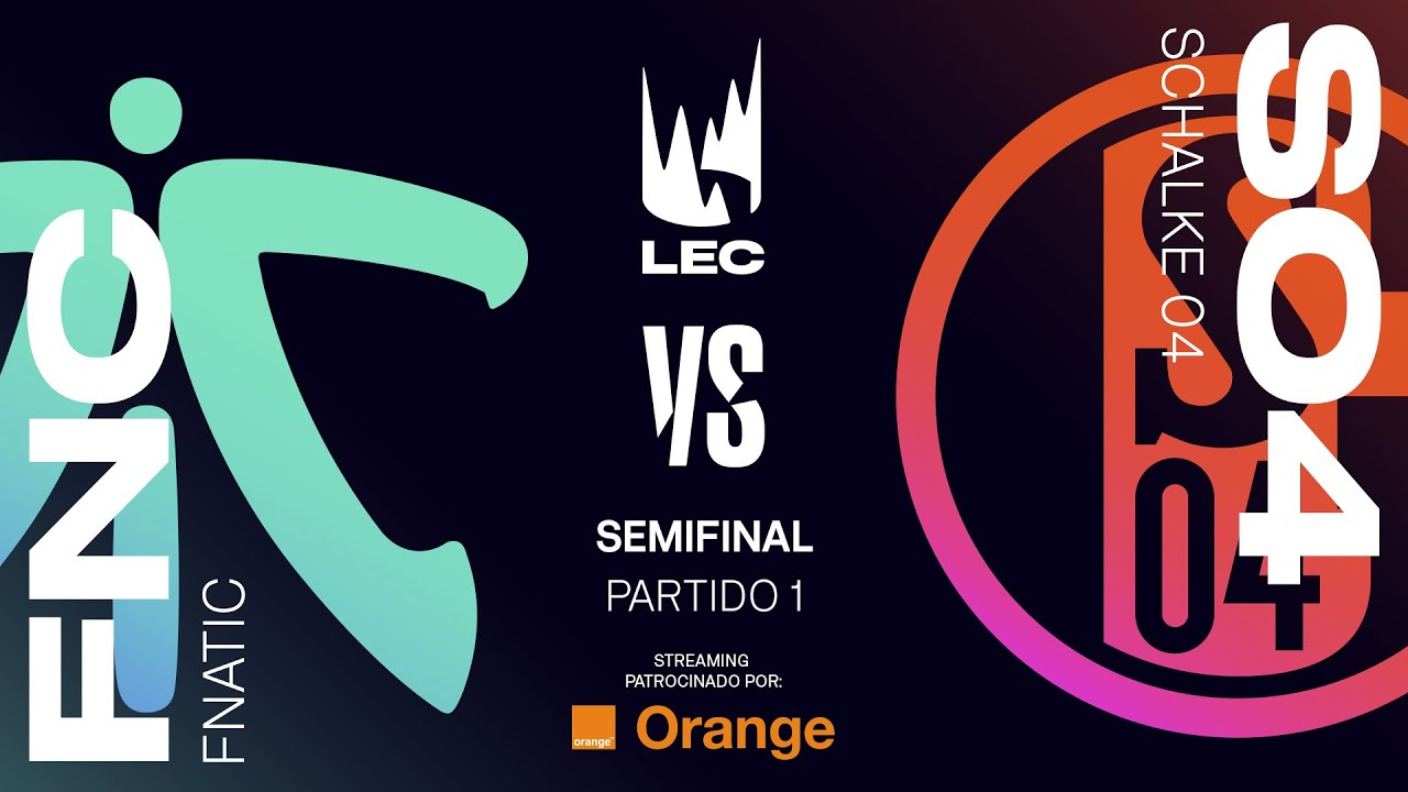 fnatic vs schalke 04 lec summer split [2019] semifinal game 1 league of legends 04255 weather 04 #3