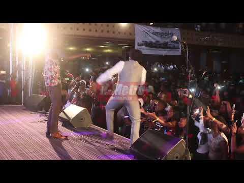 Boom Berto & Jah Signal  performing their duet - Mairevei