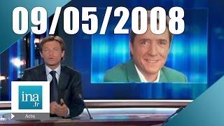 20h France 2 du 9 mai 2008 - Pascal Sevran est mort | Archive INA