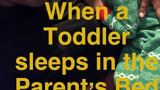 When your Tot sleeps with the Parent