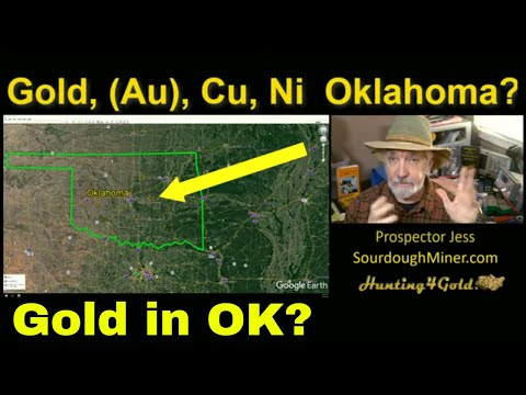 Where Can I Find Gold Nickel And Copper In Oklahoma USGS MRDS Map Summary