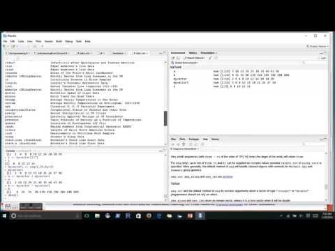 R programming - The essentials